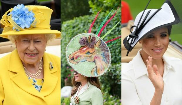 Royal Ascot 2018'in efsanevi şapkaları