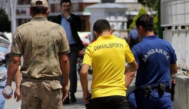 Osmanlısporlu futbolcu gözaltına alındı