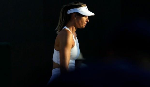 Maria Sharapova'dan erken veda!