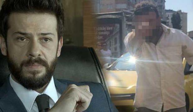 Ahmet Tansu Taşanlar, taksicinin gazabına uğradı!