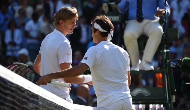 4 saatlik müthiş maçta Federer veda etti!