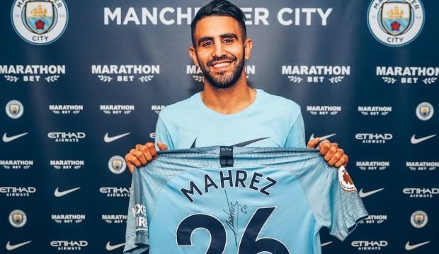 Riyad Mahrez Manchester City'de!