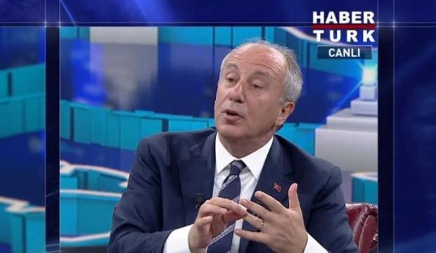 İnce'den İstanbul'a adaylık açıklaması