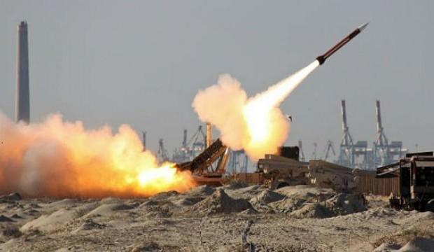 İsrail füzeyi ateşledi! Düşürdüler