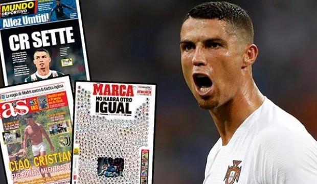 Ronaldo transferi Avrupa basınında!