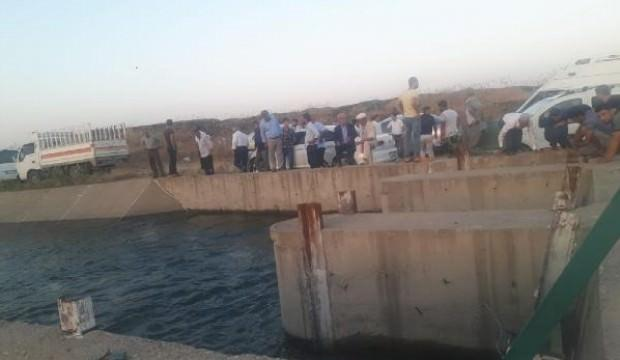 Sulama kanalına düşen 2 kardeş kayboldu