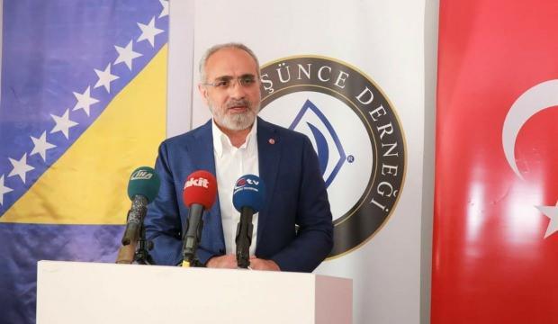 Topçu: Mazlumların arkasında Türk milleti var
