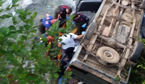 Trabzon'un Araklı ilçesinde feci kaza: 2 ölü!