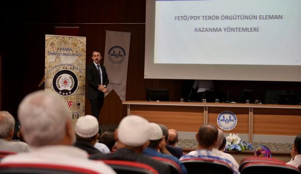 """Mardin'de """"Dini İstismar Eden Terör Örgütleri"""" semineri"""