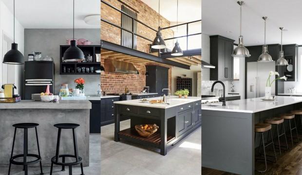 Mutfak dekorasyonunda siyah rengini kullanmanın yolları