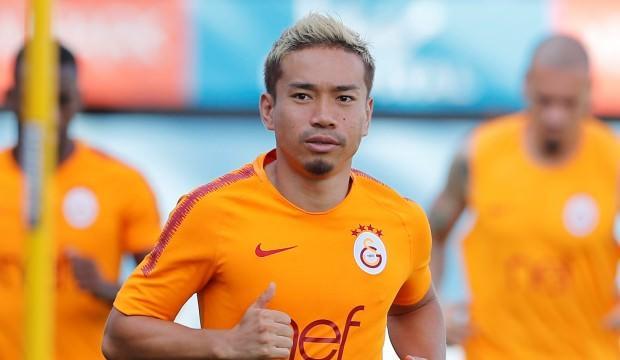 Galatasaray'da Nagatomo takıma katıldı