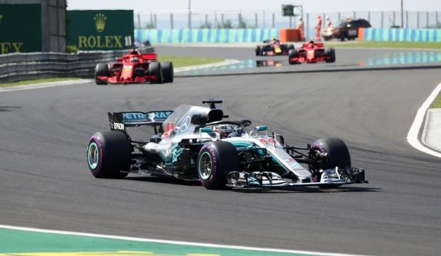 Macaristan'da kazanan Hamilton oldu!