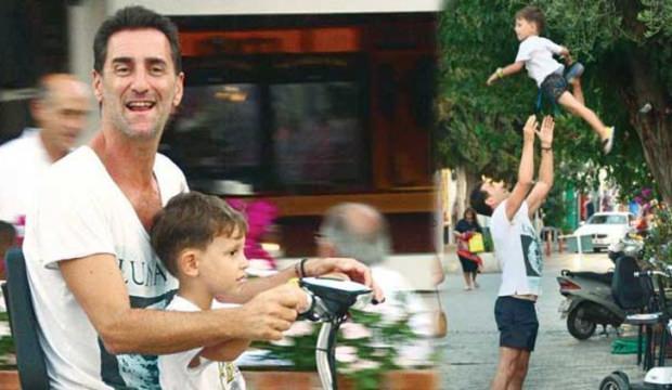 Bekir Aksoy oğlu Emir ile görüntülendi