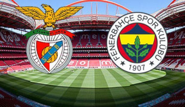 Benfica açıkladı! F.Bahçe maçında...