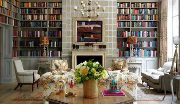 Kitaplık dekorasyonunun püf noktaları
