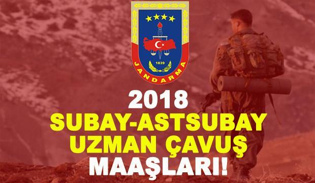 Uzman çavuş, astsubay, subay maaşları kaç TL? 2018 askeri personel maaşı...