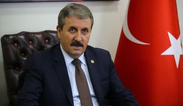 Mustafa Destici'den idam çıkışı
