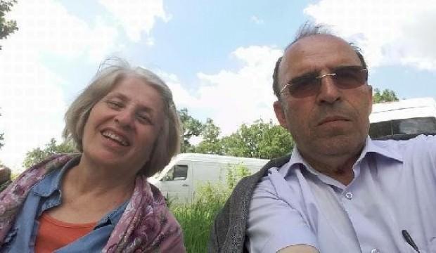 Emekli öğretmen çiftin acı ölümü!