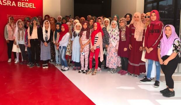Kur'an kursuna katılan öğrencilere özel gezi!