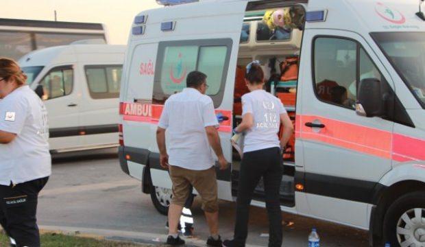 Antalya'da kaza: 19 İsrailli yaralandı