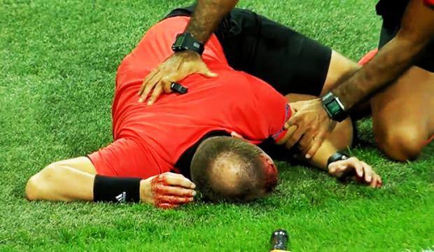 Avrupa Ligi'nde şoke eden anlar!
