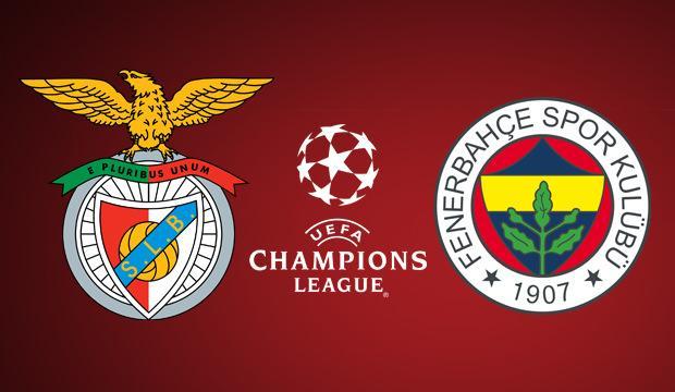 Benfica Fenerbahçe Şampiyonlar Ligi maçını şifresiz veren yabancı kanallar!