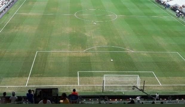 Beşiktaş'tan zemin açıklaması