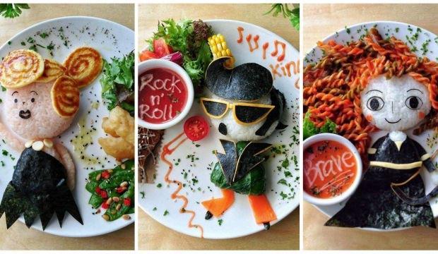 En sevdiğiniz yemekleri hiç böyle görmediniz?