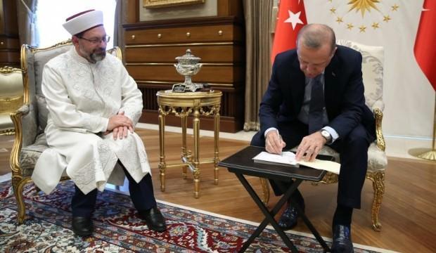 Erdoğan kurban bağışında bulundu!