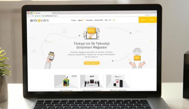 Türkiye'nin girişimcilere özel ilk pazarı...