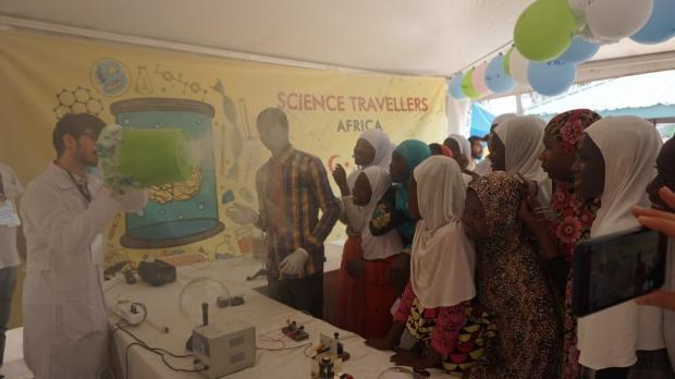 Bilim seyyahları Gana'da