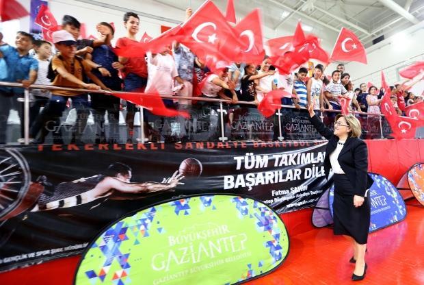 Gaziantep'te yaz spor okulları sona erdi