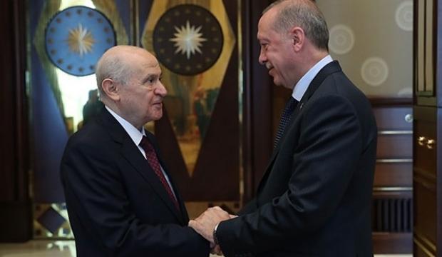 Bahçeli'den Erdoğan'a telefon