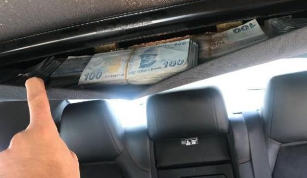 Otomobilin her yerinden para fışkırdı