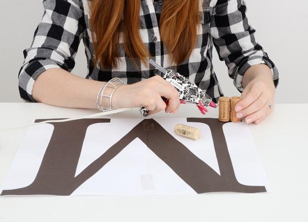 Evde dekoratif harf yapımı