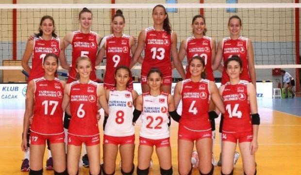 19 Yaş Altı Bayan Voleybol Milli Takımı finalde