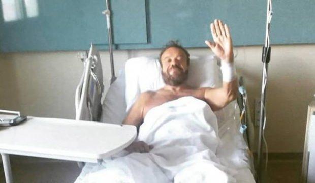 Attila Atasoy hastaneye kaldırıldı