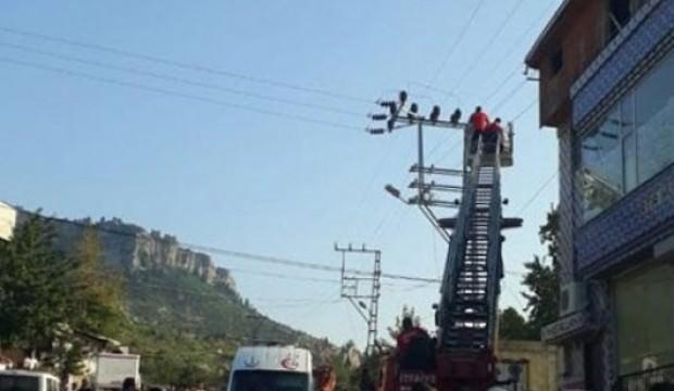 Elektrik akımına kapılan genç hayatını kaybetti