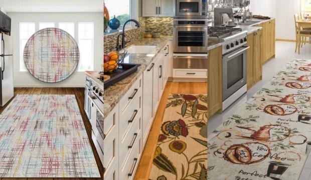 Sezonun en trend mutfak halı modelleri