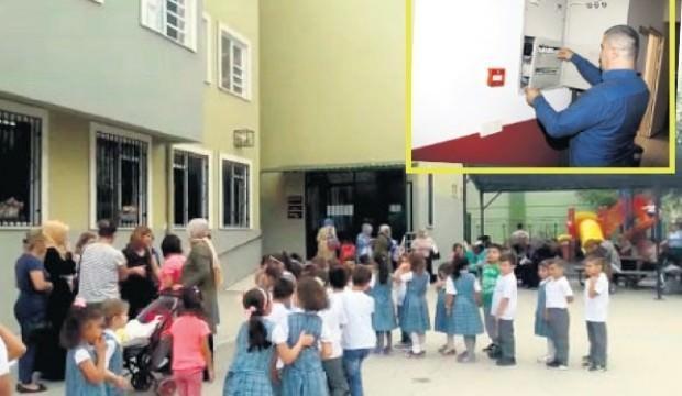 400 liralık cihaz okulda faciayı önledi