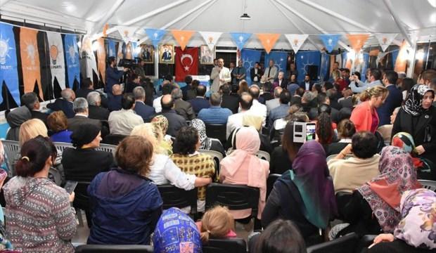 Milletvekili Karacan Seyitgazi'de temaslarda bulundu