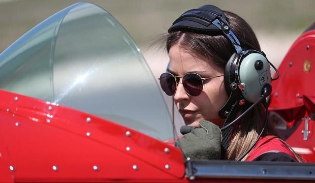 Türkiye'nin tek sivil kadın akrobasi pilotu ABD müzesinde!