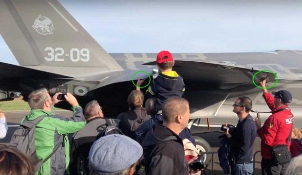F-35'lere sakın dokunmayın! En büyük özelliğini...