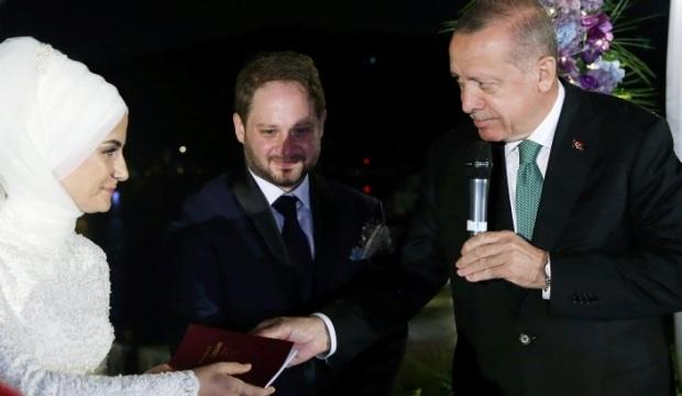 Başkan Erdoğan Saide Simin Mercanın nikah şahidi oldu 38
