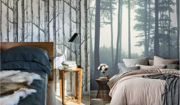 Evinize yeni bir tarz katacak duvar kağıtları