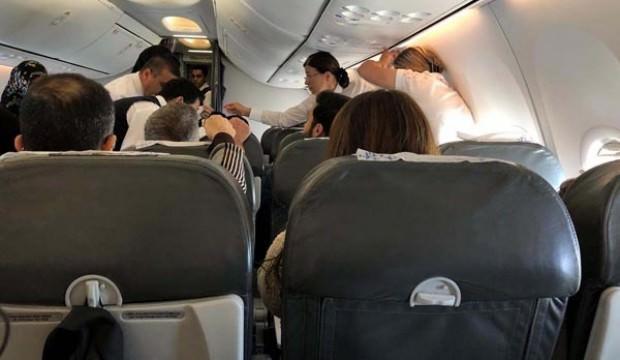 Erzurum uçağında 10 bin metrede kabus!