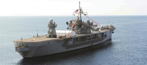 Amerika, 6. Filo'nun Komuta Kontrol Gemisi USS Mount Witney'i Selanik'teki fuara katılım bahanesiyle bölgeye intikal ettiriyor