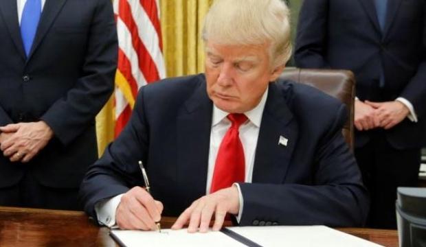 Trump imzayı attı! Yeni yaptırım kararı