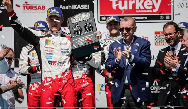 WRC Türkiye Rallisi'ni Ott Tanak kazandı!