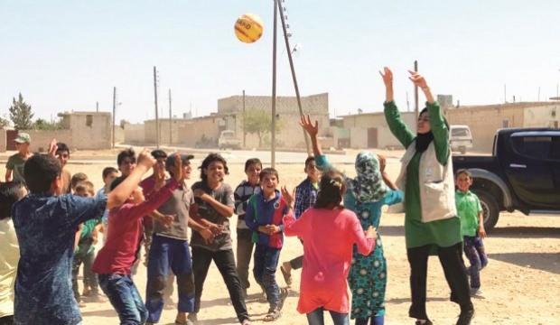Suriyenin oyun oynamayı unutan çocukları